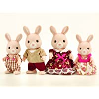 Sylvanian Families Champagne Rabbit Family by SYLVANIAN FAMILIES [並行輸入品]