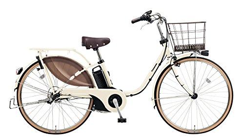 Panasonic(パナソニック) 2018年モデル ビビスタイル 26インチ カラー:アイボリーホワイト BE-ELDS634-F 電動アシスト自転車 専用充電器付