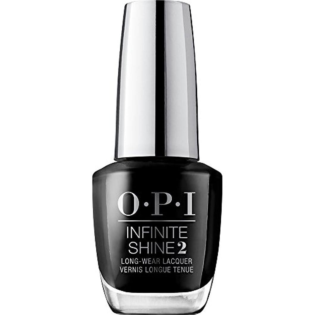 愚かな忘れられない仮定OPI(オーピーアイ) インフィニット シャイン ISL T02 ブラック オニキス