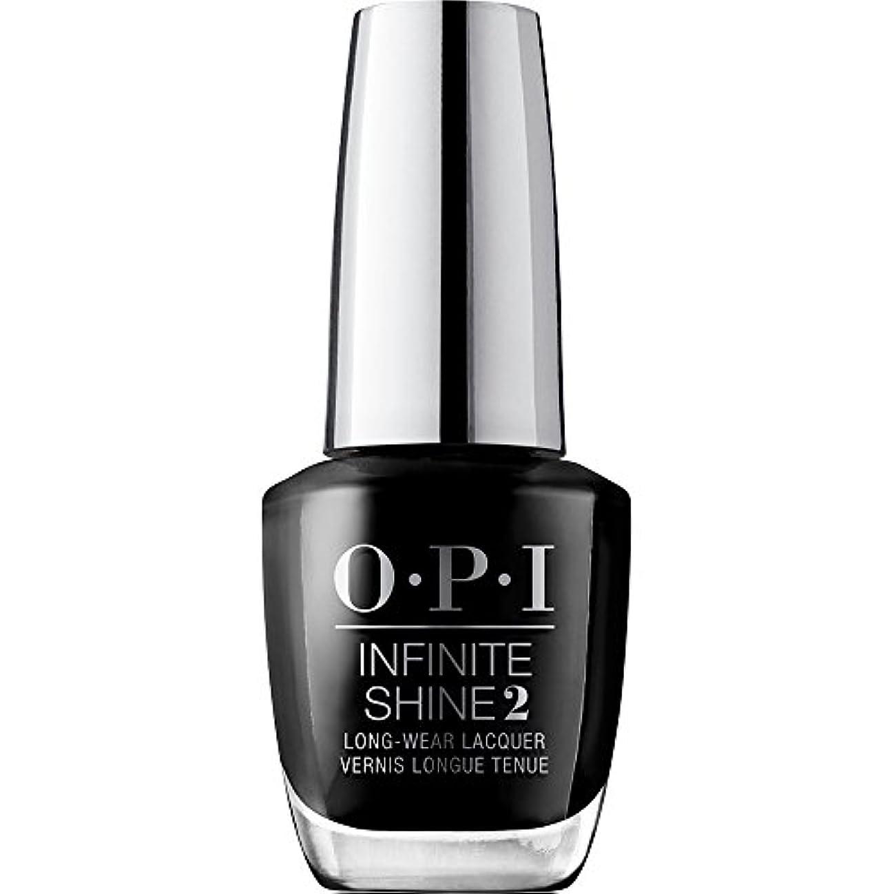 受ける夜明け排他的OPI(オーピーアイ) インフィニット シャイン ISL T02 ブラック オニキス