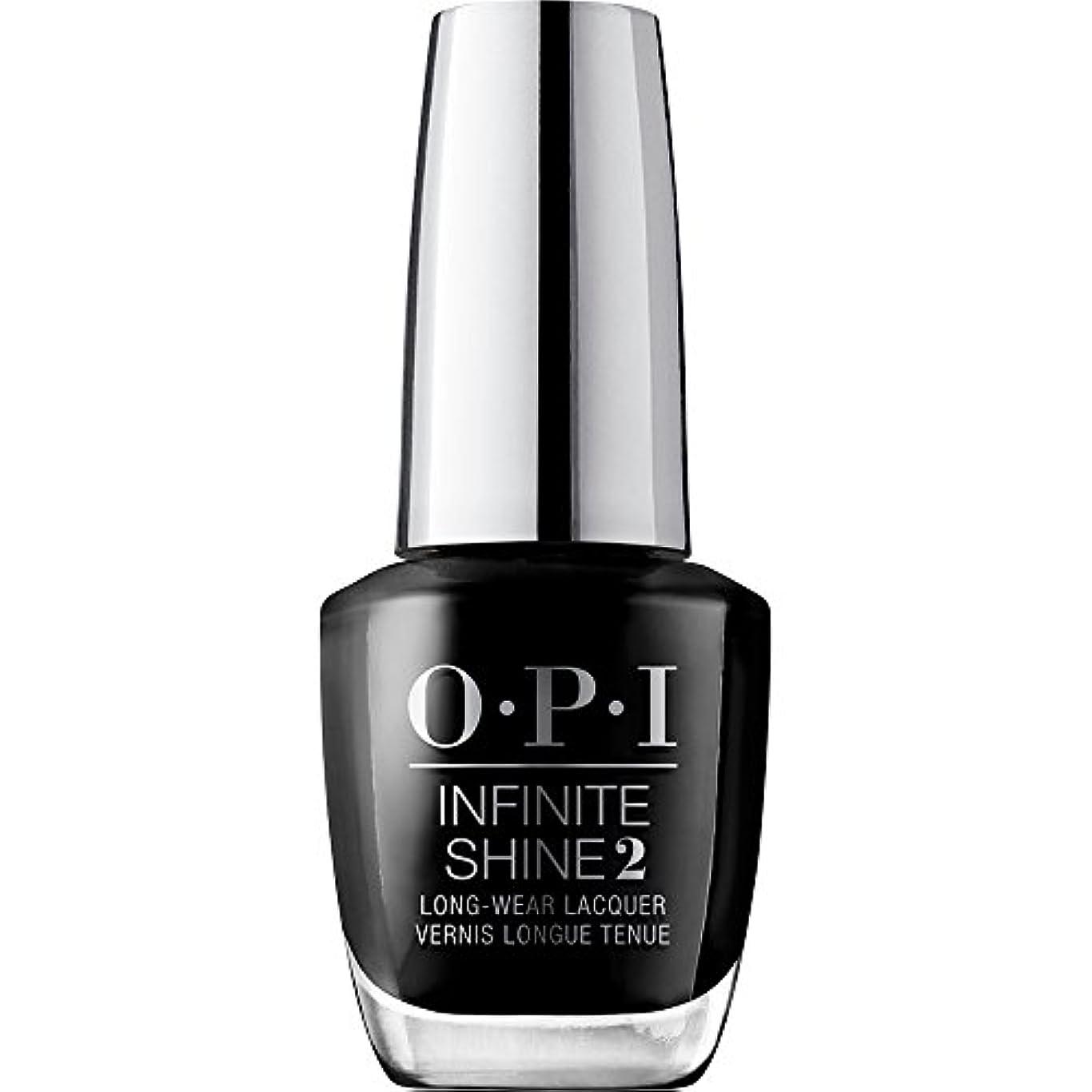 お互いポテト本物OPI(オーピーアイ) インフィニット シャイン ISL T02 ブラック オニキス