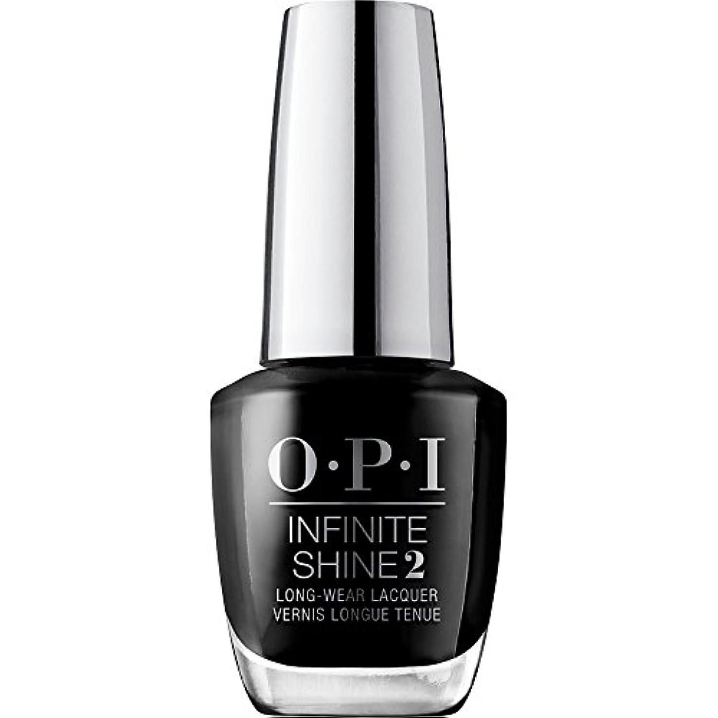 人種レイ韻OPI(オーピーアイ) インフィニット シャイン ISL T02 ブラック オニキス