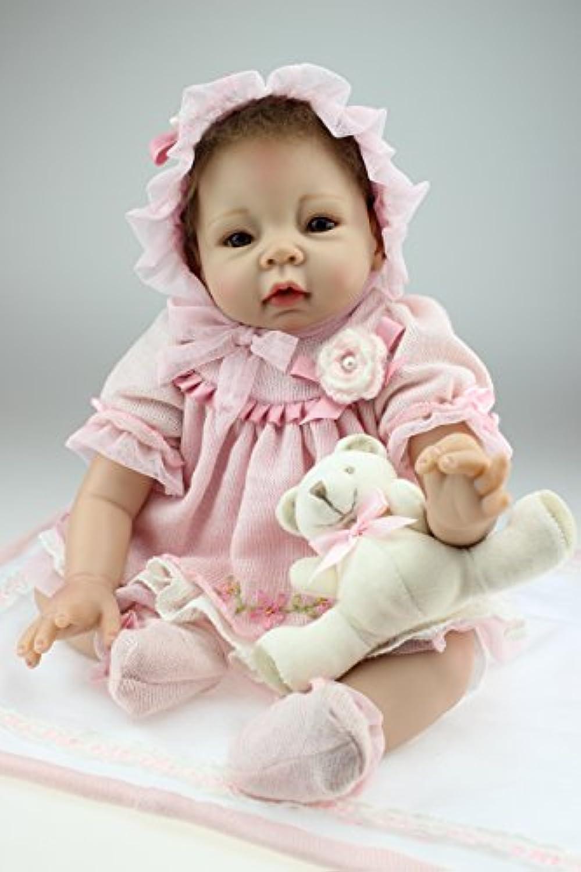 NPK COLLECTION 55CM リボーンドール ベビードール きせかえ人形 お人形 ドール 新年プレゼント 誕生日プレゼント