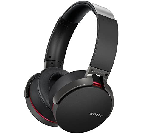 ソニー SONY ワイヤレスヘッドホン MDR-XB950BT : Bluetooth/NFC対応 折りたたみ式 マイク付き/ハンズフリー通話可能 ブラック MDR-XB950BT B