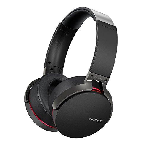 ソニー SONY ワイヤレスヘッドホン MDR-XB950BT : Bluetooth対応 折りたたみ式 マイク付き ブラック MDR-XB950BT B