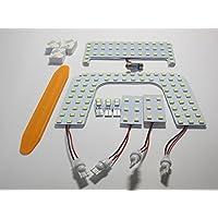 プリウス PRIUS 専用設計 50系 ZVW ツーリングセレクション 室内灯 高輝度 3chip SMD LED ルームランプ 7点セット 6000k ホワイト 130発
