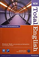 New Total English Upper-Intermediate Student Book with ActiveBook CD-ROM and MyLab Access