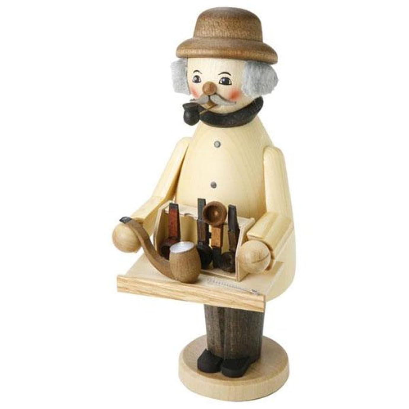 月面掃除先行する39089 Kuhnert(クーネルト) ミニパイプ人形香炉 パイプ売り