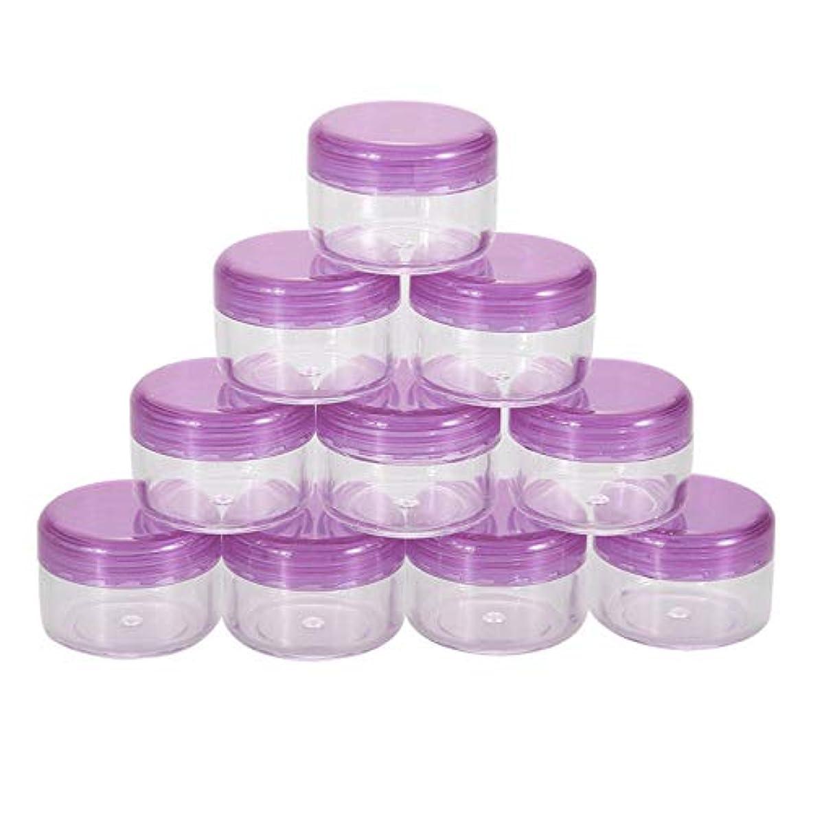 借りている薬剤師電子レンジArtlalic スクラブ、オイル、サルブ、クリーム、ローション、メイクアップ化粧品、ネイル用品 - 20個の蓋を持つ透明な容器ジャー