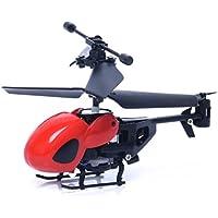 Sacow RCヘリコプターミニRC5012 2CH ミニRCヘリコプターラジオリモコン 飛行機 マイクロ2チャンネル Free Size 021