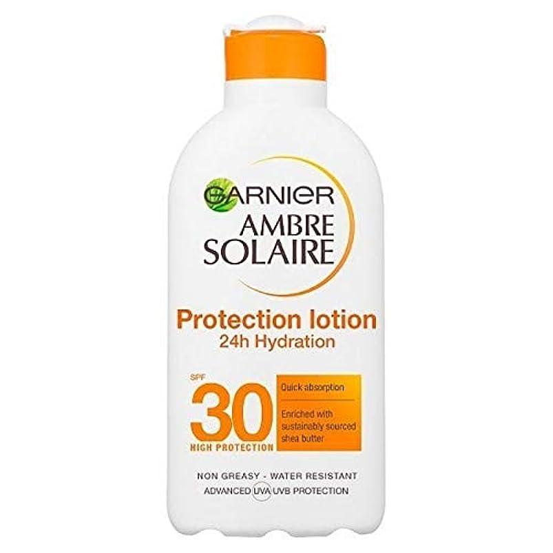 書き出すイディオム騙す[Garnier ] アンブレSolaire超水和日クリームSpf30の200ミリリットル - Ambre Solaire Ultra-hydrating Sun Cream SPF30 200ml [並行輸入品]