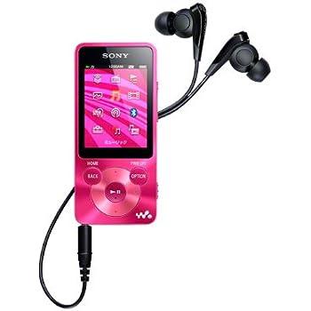 SONY ウォークマン Sシリーズ 16GB ビビッドピンク NW-S785/P