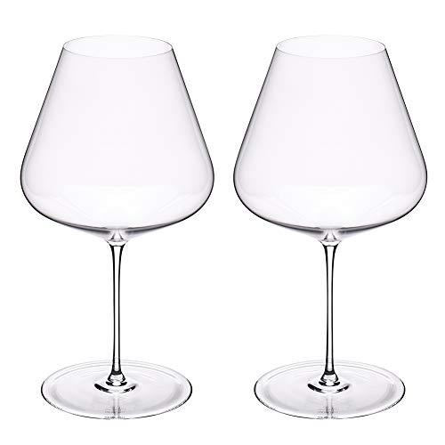 [ ザルト ] Zalto ワイングラス 2脚セット ハンドメイド ブルゴーニュ 11 102 Zalto DENK'ART Burgundy Clear ペアグラス おしゃれ プレゼント ギフト 贈り物 [並行輸入品]