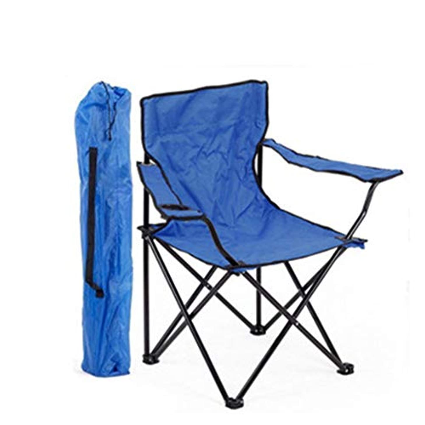 歯痛良性厚いアウトドアチェア キャンプチェア、キャリーバッグとカップホルダー付きの折りたたみ式ポータブル、ホーム/パティオ/デッキ/ホリデー/ビーチに最適