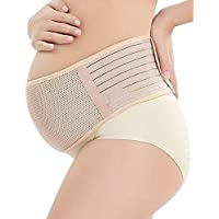 Maternity Belt, Belly Band for Pregnancy, Breathable Comfortable Back and Pelvic Postpartum Support - Adjustable Belly Band for Pregnancy Orange