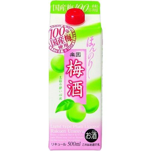 清洲桜醸造 楽園 梅酒 500ml×6本
