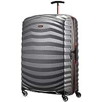 Samsonite Hardside Suitcase, 81 Centimeters, Eclipse Grey/red