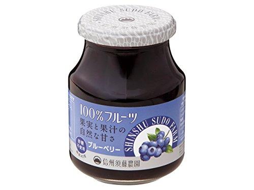 スドー 100%フルーツ ブルーベリー430g