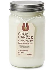 グッドキャンドル 1ポンド メイソンジャー キャンドル Good Candle 1LB Mason jar candle [ Basil ] 正規品