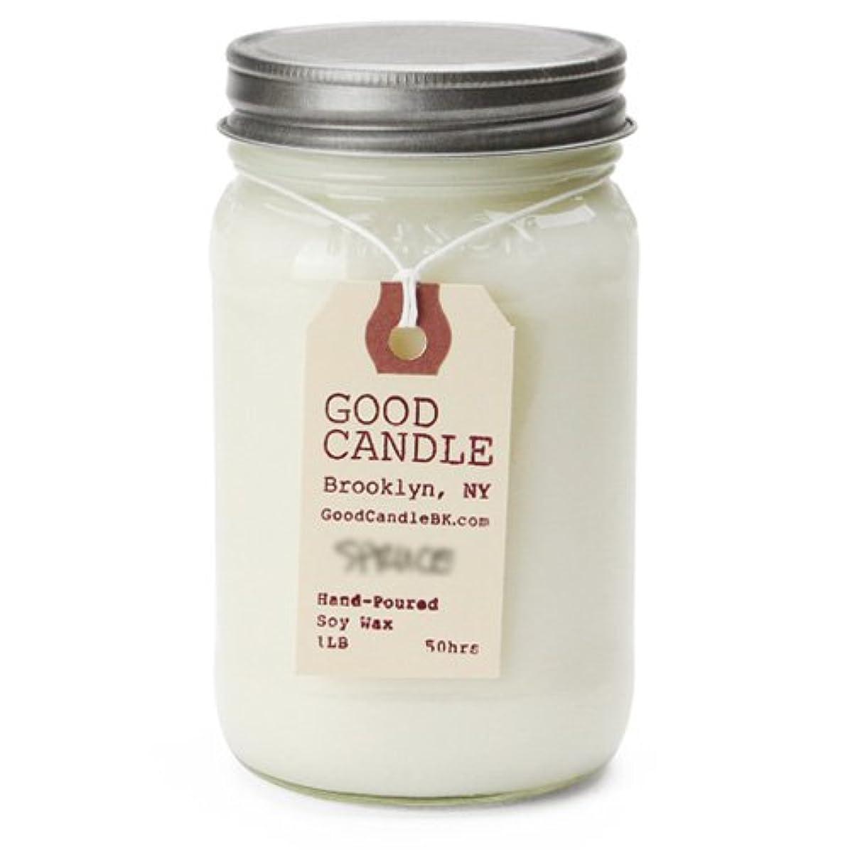 静めるカンガルーアラブ人グッドキャンドル 1ポンド メイソンジャー キャンドル Good Candle 1LB Mason jar candle [ bayberry ] 正規品