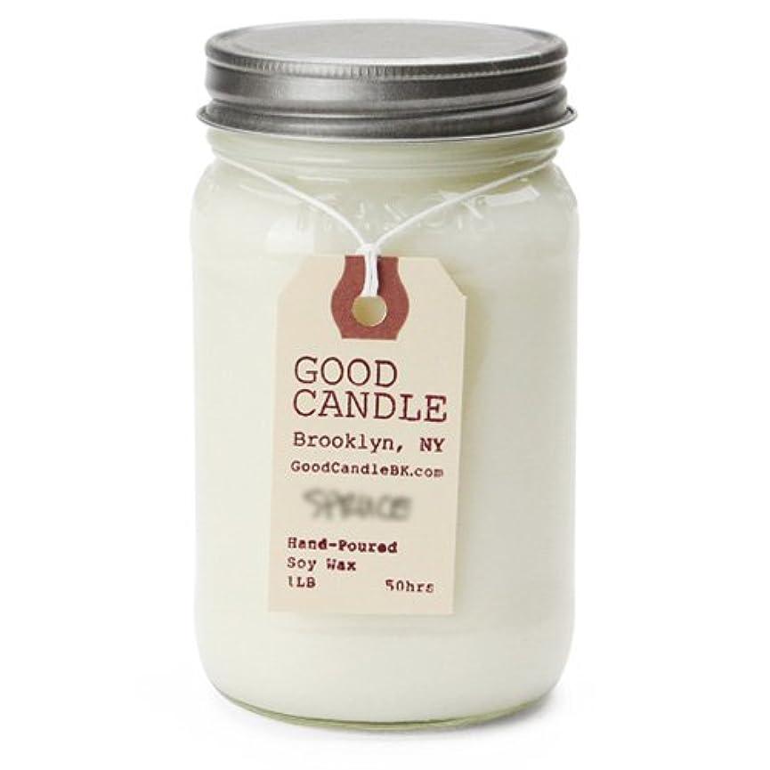 誰でも矢じり無秩序グッドキャンドル 1ポンド メイソンジャー キャンドル Good Candle 1LB Mason jar candle [ bayberry ] 正規品
