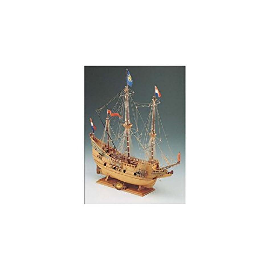 砂トリプルまたは木製帆船模型 コーレル SM18 ハーフムーン 60分の帆船模型製作入門DVD付属