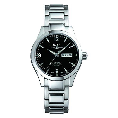 [ボールウォッチ]BALL Watch 腕時計 オハイオ ブラック文字盤 ステンレススチール 100m防水 NM2026C-S5J-BK メンズ 【並行輸入品】