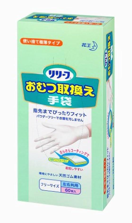 下るレンチ信頼性のあるリリーフ おむつ取換え手袋 60枚入