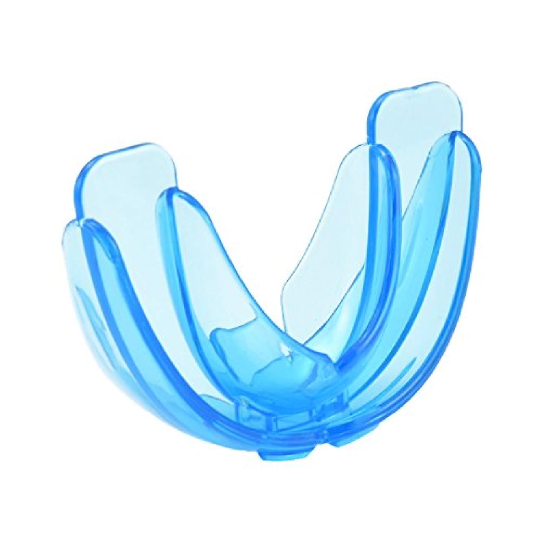 じゃがいも旅ランチAMAA マウスピース 歯保護 歯列矯正 歯ぎしり いびき防止 ケース付 (ブルー 硬い)