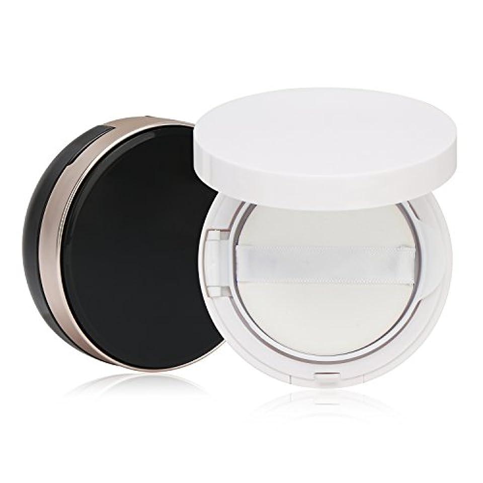 谷申込み想定するSegbeauty エアクッションボックス パウダーコンテナ BBクリーム 化粧品 詰替え DIY 黒いと白いのセット