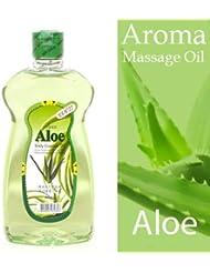 アロマ マッサージオイル アロエ 465ml 甘いフルーティーな香り ■ サロン仕様?業務用アロママッサージオイル