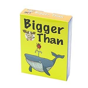 Bigger Than Card Game 英語 カードゲーム