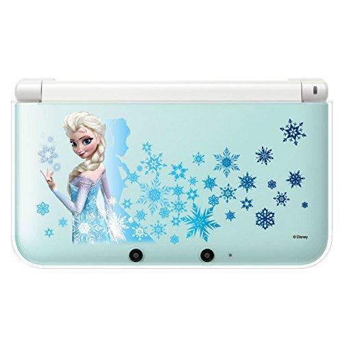 キャラプレカバー for ニンテンドー3DSLL 雪の女王 エルサ (アナと雪の女王)