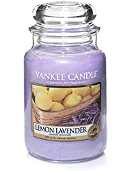 Yankee Candle Lemon Lavender Large Jar Candle, Fresh Scent by Yankee Candle Company