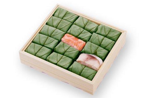 柿の葉すし (鯖・鮭) 15個入
