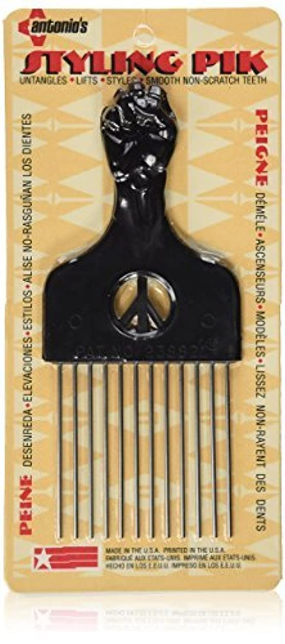 交じるラリーベルモント九時四十五分Legends Creek Antonios Made In America Metal Hair Styling Pik for Volume & Tangles [並行輸入品]
