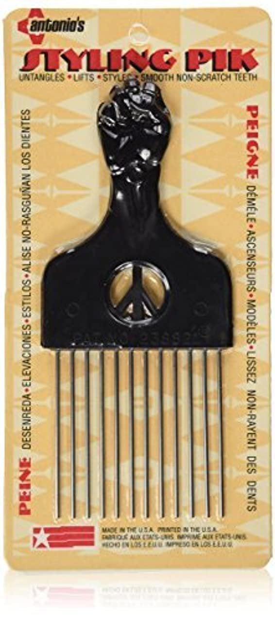 版不誠実以上Legends Creek Antonios Made In America Metal Hair Styling Pik for Volume & Tangles [並行輸入品]