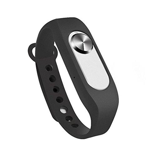 ボイスレコーダー ウェアラブル 腕時計型 リストバンドタイプ 調整可能 容量8GB 小型・超便利 授業 会議 スピーチ 打ち合わせなど適用