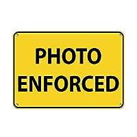 Shimaier 壁の装飾 メタルサイン Bank Parking Only Parking Sign ウォールアート バー カフェ 縦30×横40cm ヴィンテージ風 メタルプレート ブリキ 看板