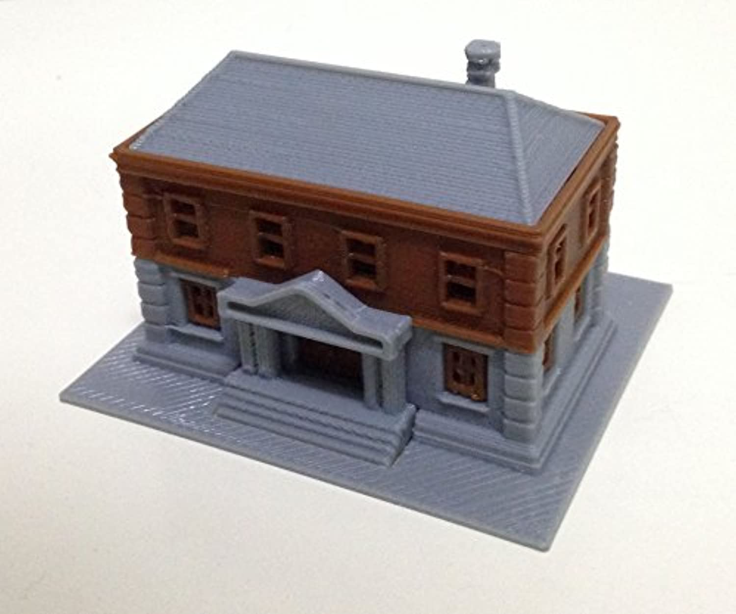 Outland Models Railroad City Government Department Police Station Z Scale 1:220