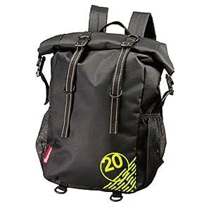 コミネ(Komine) バイク用リュック ウォータープルーフライディングバッグ20 ブラック フリー(20L) 09-208 SA-208
