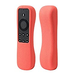 SIKAI -Fire TV Stick 専用カバー 軽量 滑りとめ 衝撃吸収 シリコン保護ケース ( red)