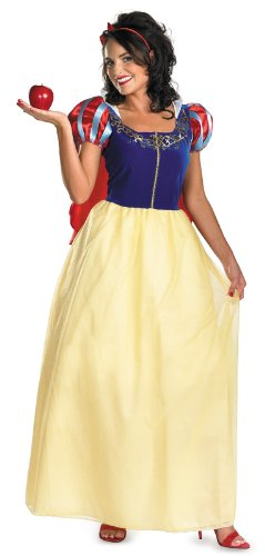 Snow White Deluxe Adult Plus Costume スノーホワイトデラックス大人用プラスコスチューム♪ハロウィン♪サイズ:X-Large