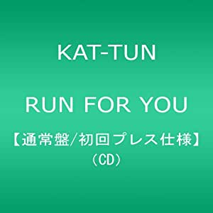 RUN FOR YOU(通常盤/初回プレス仕様)