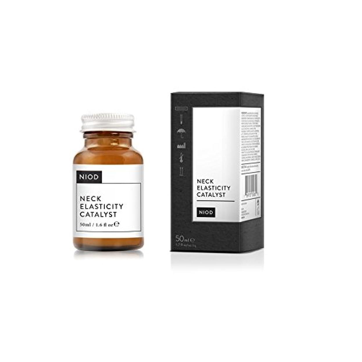 準備した司書興奮Niod Elasticity Catalyst Neck Serum 50ml (Pack of 6) - 弾力性触媒の首血清50ミリリットル x6 [並行輸入品]