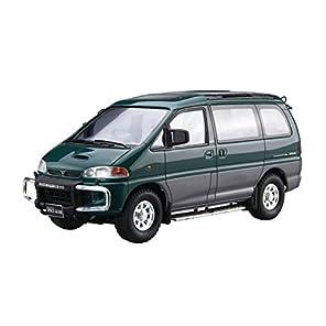 青島文化教材社 1/24 ザ・モデルカーシリーズ No.96 ミツビシ PE8W デリカスペースギア 1996 プラモデル