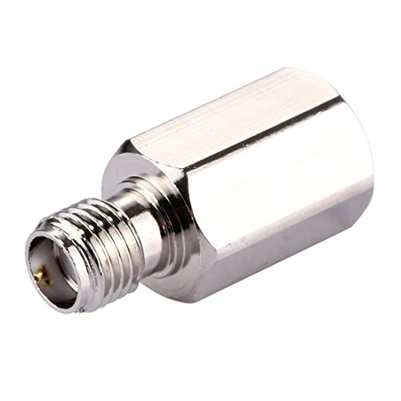 なだめる賞賛サロンコンピュータアクセサリー FMEオス - SMAメスコネクタアダプタ Wifiスペアパーツ (Color : Silver)