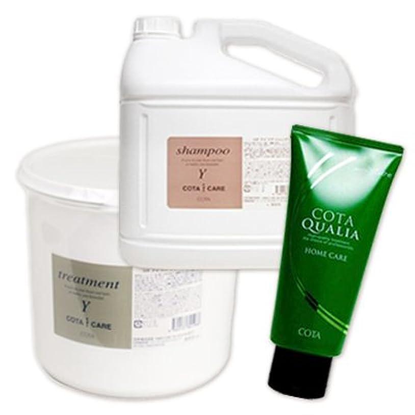 ラビリンスオリエンタル過敏なコタ アイケア シャンプーY 5L + トリートメントY 3kg + クオリア モイスチャー 200g 3点セット