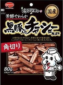 日本ペットフード ビタワン君の黒豚入りチャーシュー仕立て 角り 80g