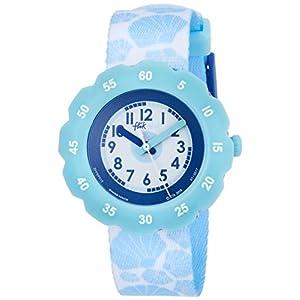 [フリック フラック]FLIK FLAK 腕時計 SOFT BLUE (ソフト・ブルー) Power Time 5+キッズ ガールズ FPSP015 ア・デイ・アット・ザ・ビーチ 【正規輸入品】 FPSP015 ガールズ 【正規輸入品】
